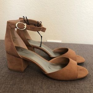 Shoes - 2 for $40 Brown Open-Toe Heeled Sandals